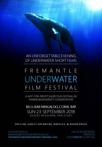 Fremantle Underwater Film Festival screening at Bill's Bar