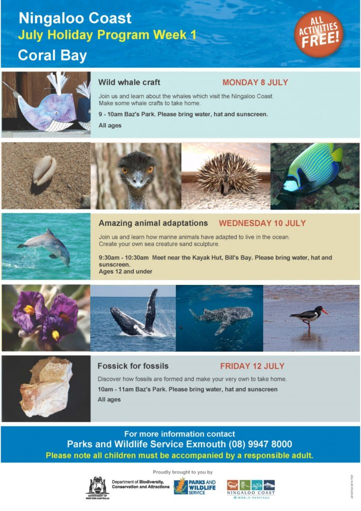 Fun & free July school holiday activities!