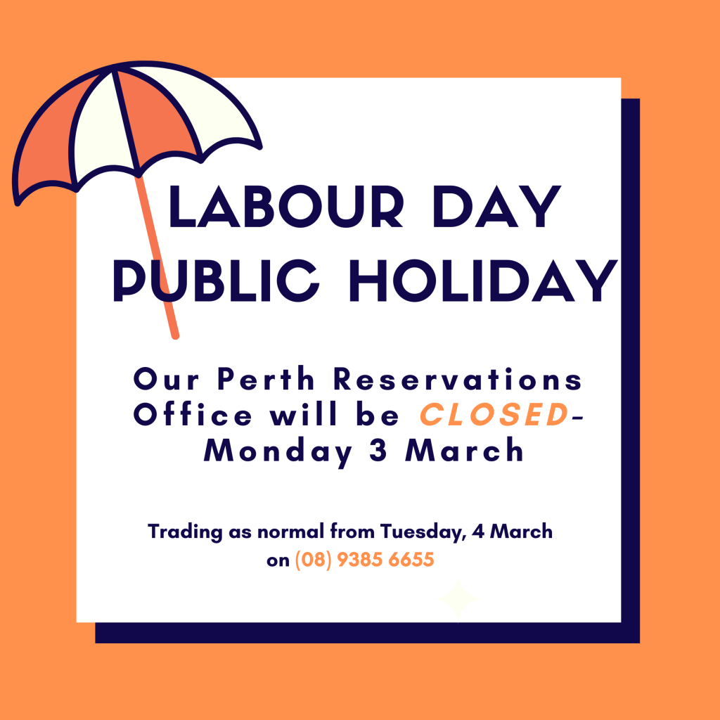 Perth Office Closed for Labour Day Public Holiday