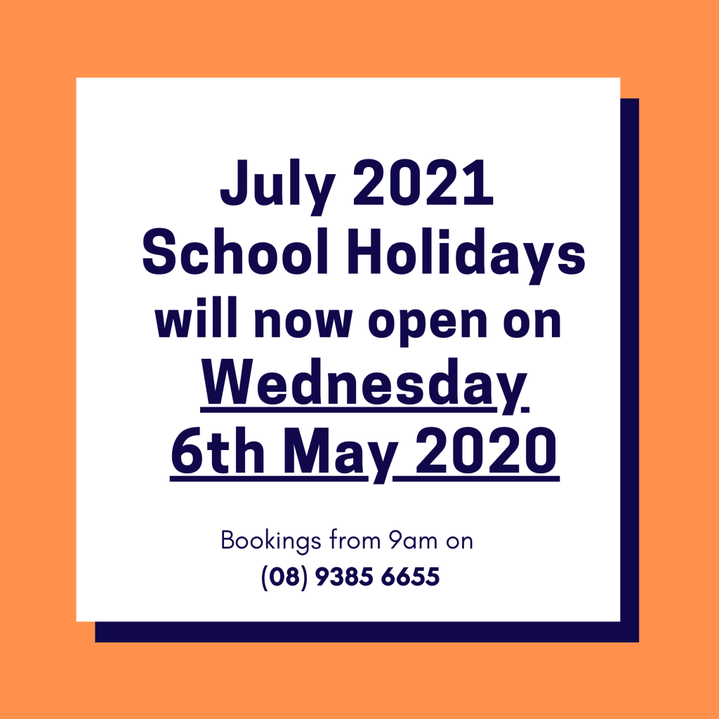 July 2021 Holidays Opening Date Deferred