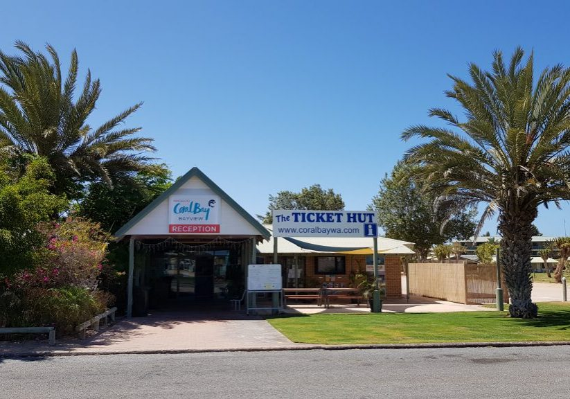 BAYVIEW RECEPTION AND TICKET HUT FRONTAGE_2019